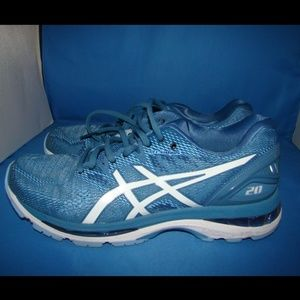 Women's Asics Gel Nimbus 20 Running Shoes 9 Blue